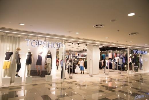 Cửa hàng Topshop Topman tại TTTM SC VivoCity – Lầu 1 & 2.