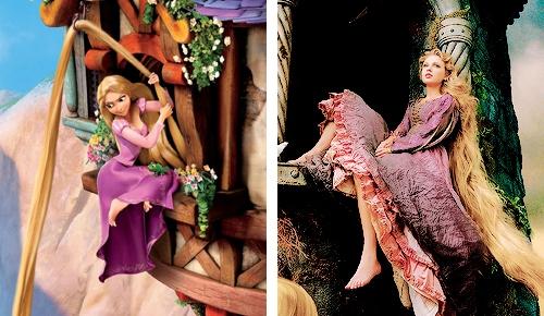 Cô nàng cũng từng được mời vào vai Công chúa tóc mây trong bộ ảnhDisney Dream Portrait của nhiếp ảnh giaAnnie Leibovitz. Trông Taylor không khác gì phiên bản người thật hoàn hảo củaRapunzel.