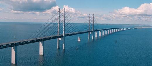 Chiếc cầu rất dài và cũng rất đẹp. (Ảnh: Internet)