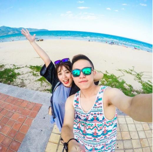 Cặp đôi vừa mới cùng nhau tận hưởng chuyến du lịch lãng mạn tại Đà Nẵng. (Ảnh: Internet)