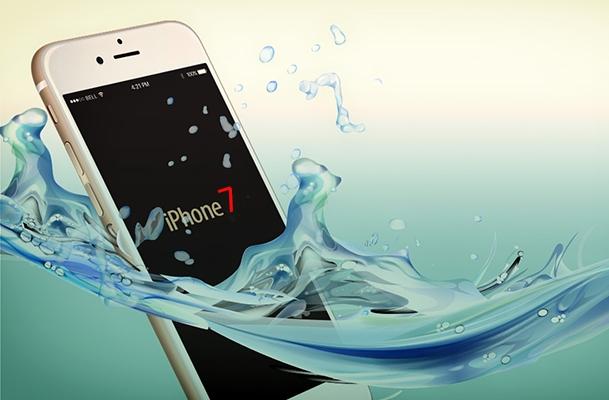 """iPhone 7 có thể tự mình """"lội"""" nước. (Ảnh: Internet)"""