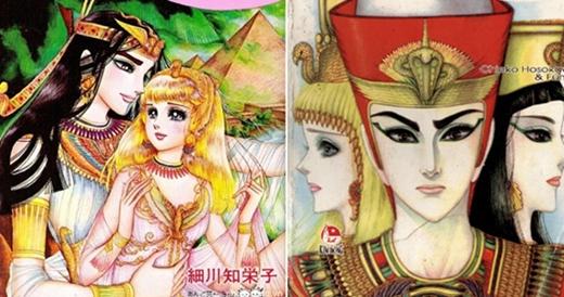 """Nữ Hoàng Ai Cập từng bộ truyện tranh """"gối đầu"""" của rất nhiều teen girl."""