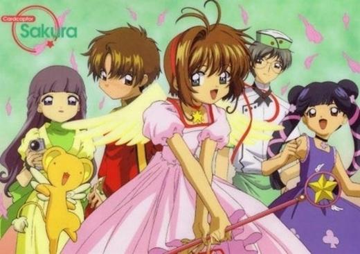 Sakura và những người bạn thân cùng chinh phục các thẻ bài.
