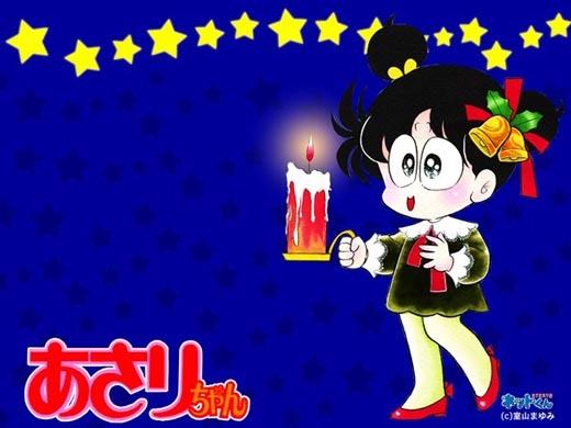 Cô bé Asari luôn đem lại cho mọi người những khoảnh khắc vui nhộn.