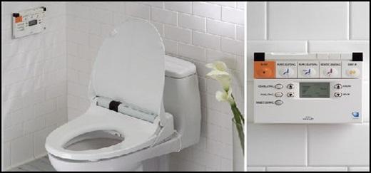 """Hệ thống nhà vệ sinh thông minh không chỉ được lắp đặt ở những nơi công cộng """"sang chảnh"""" đâu.(Ảnh Internet)"""