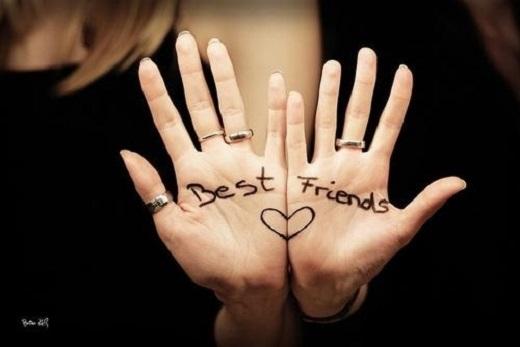 Tình bạn đáng quý hơn bất cứ thứ vật chất nào trên đời.(Nguồn: Internet)