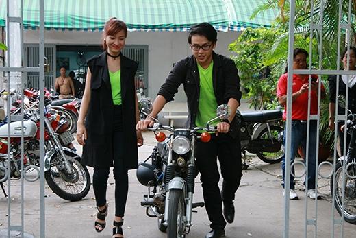 Bộ đôi Quang Bảo và Kim Nhã chọn Honda 67 là người bạn đồng hành trong các tập tiếp theo.