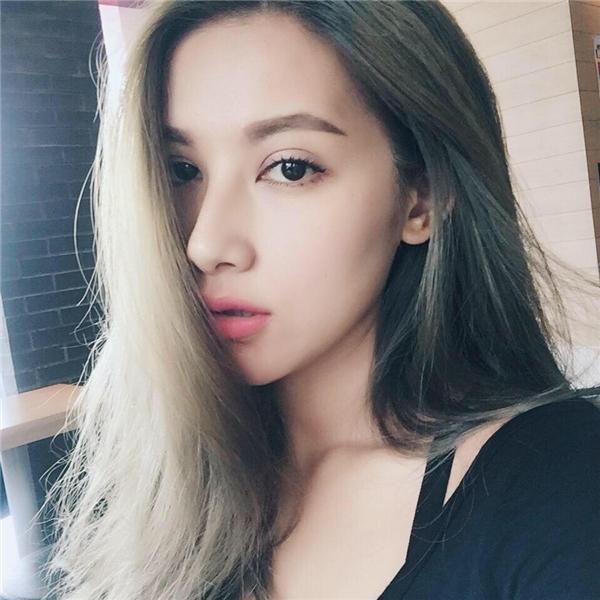 Emmy Nguyễnxinh đẹp với nhiều nét lai Tây trên gương mặt. (Ảnh: Internet)