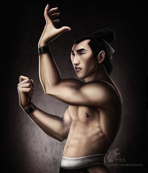 Tướng quân Li Shang trong Hoa Mộc Lan.