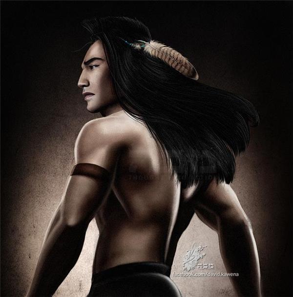Kocoum trong bộ phim Pocahontas.