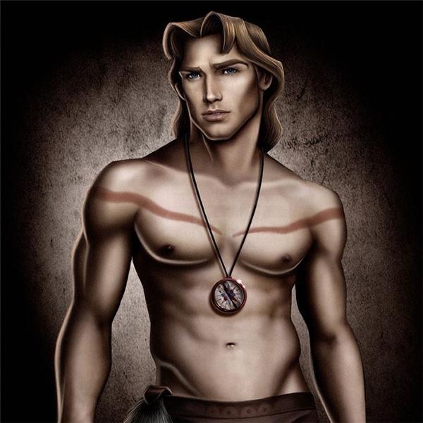 John Smith của Pocahontas.