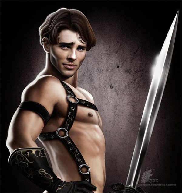 Hoàng tử Edward trong bộ phim Enchanted.