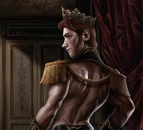 Chàng hoàng tử xấu tính Hans trong Frozen.