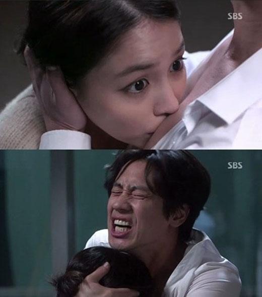 Trong những tập đầu của Everything about my relationship, Noh Min Young (Lee Min Jung) và Kim Soo Young (Shin Ha Gyun) chẳng ưa gì nhau. Một lần, hai người cãi nhau kịch liệt và sau một màn giằng co, nàng vô tình hôn trúng ngực chàng.