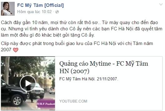 Cộng đồng fan chia sẻ clip quảng cáo cũ của Mỹ Tâm. - Tin sao Viet - Tin tuc sao Viet - Scandal sao Viet - Tin tuc cua Sao - Tin cua Sao