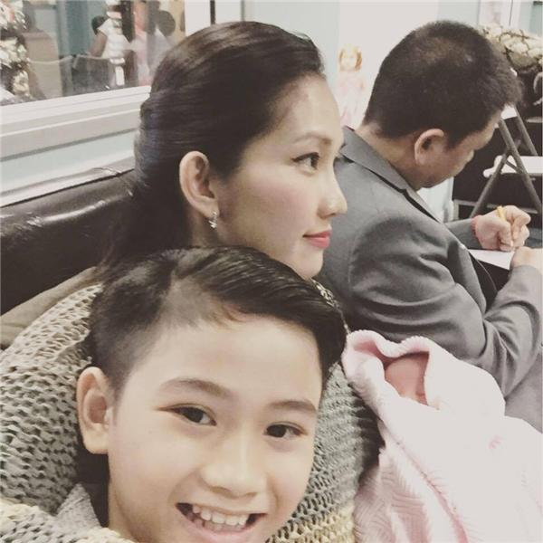Gia đình nhỏ của Kim Hiền hạnh phúc tại Mỹ. - Tin sao Viet - Tin tuc sao Viet - Scandal sao Viet - Tin tuc cua Sao - Tin cua Sao