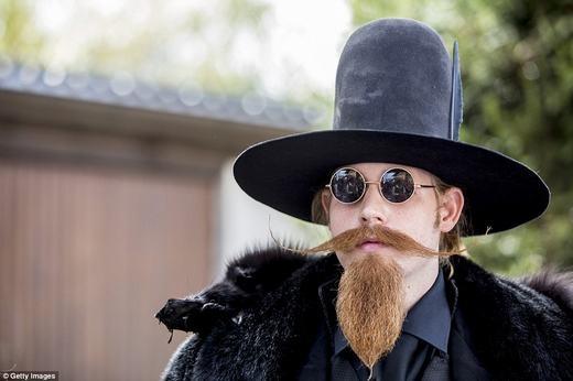 """Để có được bộ râu như thế này, mỗi người phải chăm chút đến """"mất ăn mất ngủ"""". (Ảnh: Getty Images)"""