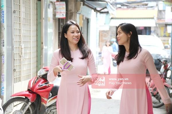 Bạn thân của cô dâu - Đào Tuyết Ngọc (bên phải) - Tin sao Viet - Tin tuc sao Viet - Scandal sao Viet - Tin tuc cua Sao - Tin cua Sao