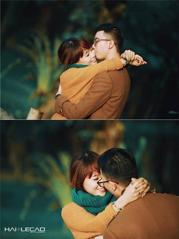 Giữa thiên nhiên thanh bình, tình yêu của cặp đôi cũng như tràn đầy sức sống.(Ảnh Internet)