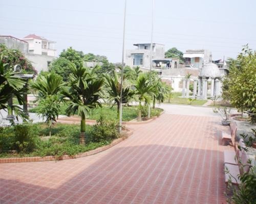 Lối vào trung tâm lăng mộ của đại gia Vũ Hồng Khánh