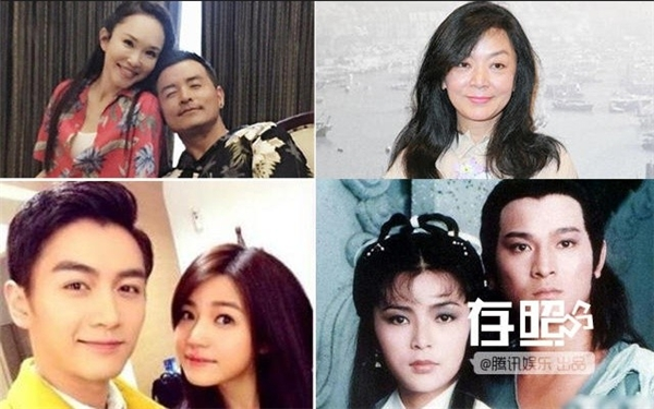 Ảnh bên trái: Phạm Văn Phương - Lý Minh Thuận (trên), Trần Hiểu - Trần Nghiên Hy (dưới). Ảnh bên phải: Trần Ngọc Liên xưa và nay.
