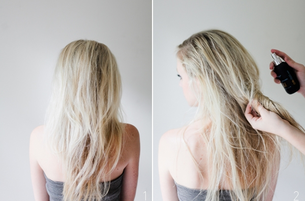 Lượng dầu có sẵn trong tóc giữ mùi hương rất lâu.