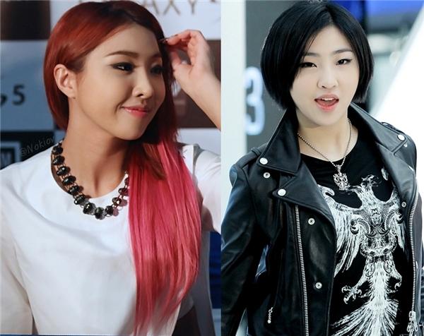"""Không ít các fan tiếc hùi hụi khi Minzy (2NE1) quyết định nuôi tóc dài nữ tính. Lído bởi vì hình tượng tóc ngắn """"hầm hố"""" từng khiến các fan không khỏi ngất ngây mỗi khi cô nàng xuất hiện."""