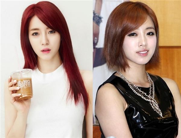 Nhìn vào những hình ảnh trên thì không có gì thắc mắc khi Eunjung (T-ara) được bình chọn là một trong những nữ thần tượng hợp với kiểu tóc ngắn nhất của Kpop.