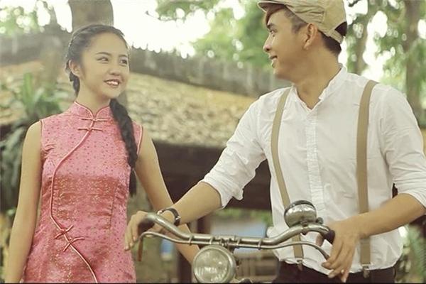 Thanh Vycùng Hồ Quang Hiếu.