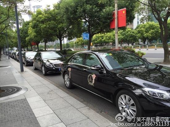 Choáng với quy mô và siêu xe trong hôn lễ của Huỳnh Hiểu Minh