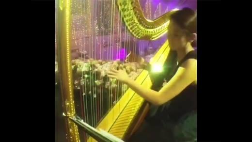 Cận cảnh đám cưới đẳng cấp hoàng gia của Huỳnh Hiểu Minh và AngelaBaby