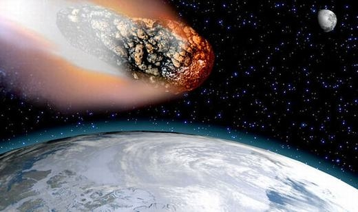 """Thiên thạch lớn nhất từ trước đến nay có thể """"ghé thăm"""" Trái đất sau ít giờ tới. (Ảnh: Internet)"""