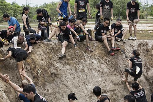 """Tinh thầncủa Champion Dash là """"Tất cả mọi người cùng vượt qua chướng ngạivật, không bỏ ai lại phía sau!""""."""