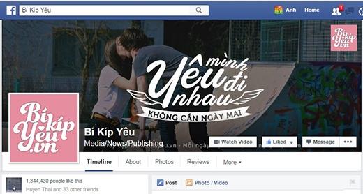Bí Kíp Yêu - fanpage về tình yêu và tuổi trẻ đang được yêu thích của YAN với hơn 1 triệu fans - Tin sao Viet - Tin tuc sao Viet - Scandal sao Viet - Tin tuc cua Sao - Tin cua Sao