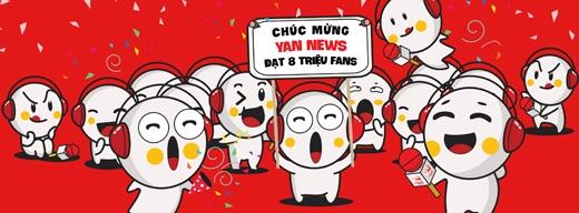 Uống Coffee Bean miễn phí mừng YAN đạt 8 triệu fan
