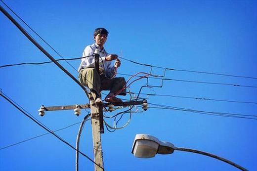 """""""Có điện lại chưa cả nhà ơi?"""". (Ảnh: Internet)"""