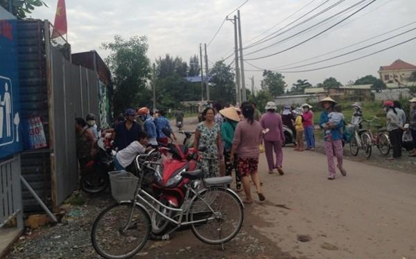 Vụ việc khiến nhiều người dân trong khu vực không khỏi xót xa.