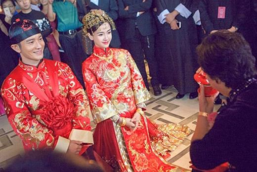 Đám cưới của Huỳnh Hiểu Minh và Angelababy được ví như chương kết của 1 cuốn tiểu thuyết ngôn tình.