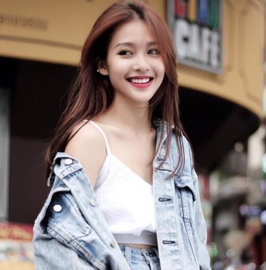 Hot girlKhả Ngân (Ảnh Internet)