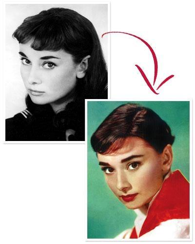 Thật lòng mà nói,Audrey HepBurn vẫn đẹp hoàn hảo trong bất cứ kiểu tóc nào. Tuy nhiên, kiểu tóc siêu ngắn cùng làn da trắng như sữa lại mang đến cho cô một vẻ đẹp quyến rũ không thể cưỡng lại. Dường như việc thay đổi kiểu tóc cũng đã giúp cô đoạt giải Oscar sau bộ phim Roman Holiday vào năm 1959.