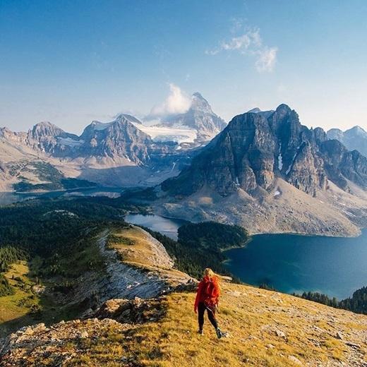 """""""Lạc lối"""" ởcông viên núi Assiniboine, British Columbia.(Nguồn IG @stevint)"""