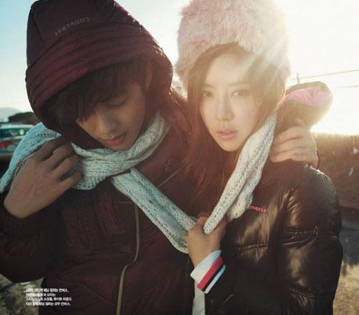 Se7en và Park Han Byul lúc còn mặn nồng