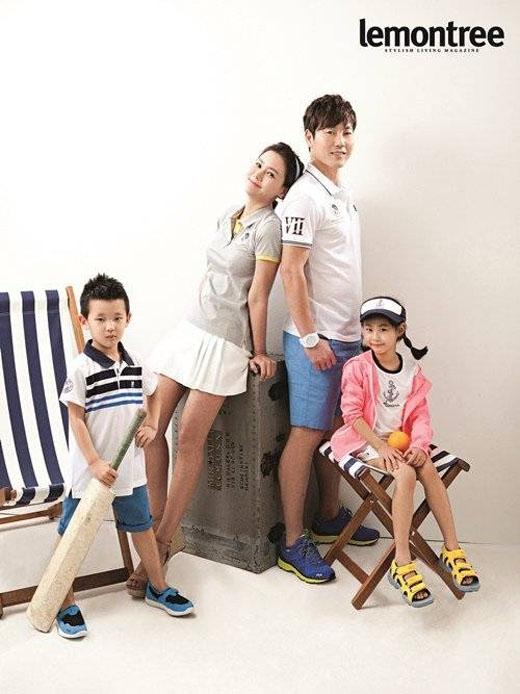 Gia đình đã từng hạnh phúc của Song Jong Kook