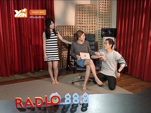 Hòa Minzy và những điều chưa nói trên Radio 88.8