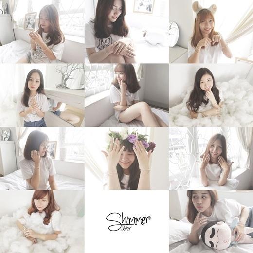 Các cô gái xinh xắn ấy chính là nhân viên củahai cửa hàng trang sức bạc thủ công mang tên Shimmer.