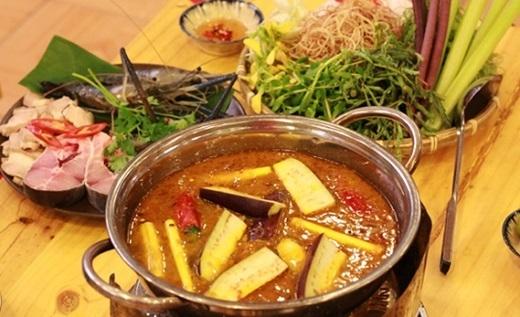 Lẩu mắm – linh hồn ẩm thực của các tỉnh miền Tây.(Nguồn: Internet)
