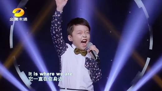 Cậu bé gốc Hoa 10 tuổi gây