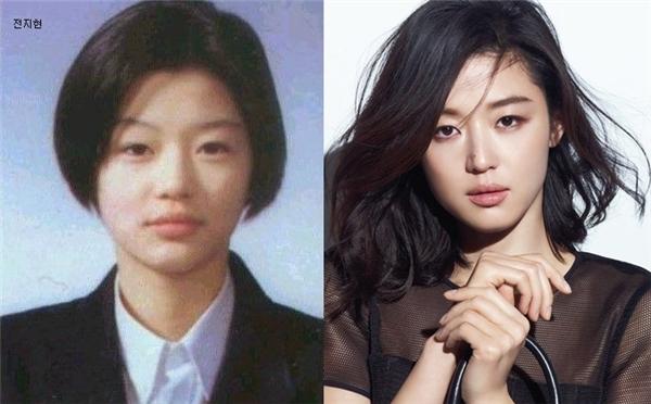 """Từ thời cắp sách đến trường, Jun Ji Hyun đã bộc lộ vẻ ngoài sang chảnh và khí chất hơn người. Việc trở thành diễn viên có lẽ là quyết định sáng suốt của """"mợ chảnh""""."""