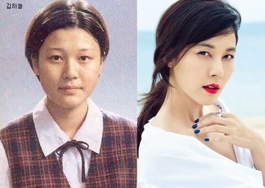 """Trông Kim Ha Neul hiện nay như """"bản sao nâng cấp"""" của thời điểm người đẹp 37 tuổi cắp sách đến trường."""