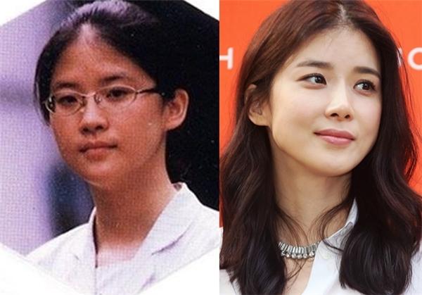 """Lee Bo Young ngày xưa đúng chuẩn """"thanh niên nghiêm túc"""". Hiện nay, cô nàng vẫn giữ vững hình ảnh dịu dàng, trong sáng nhưng không kém phần cá tính, chiếm được nhiều tình cảm của khán giả."""